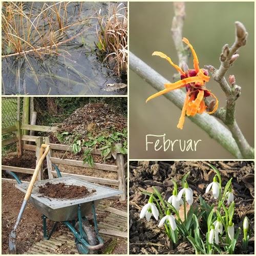 Februar Collage… BIWYFI und mein 12tel Blick…