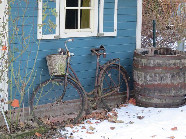 Winter im alten Garten…